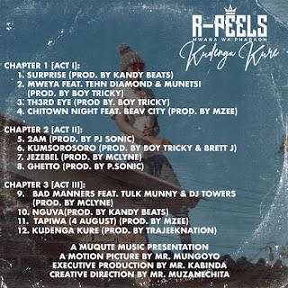 [feature] R. Peels - Kudenga Kure Tracklist