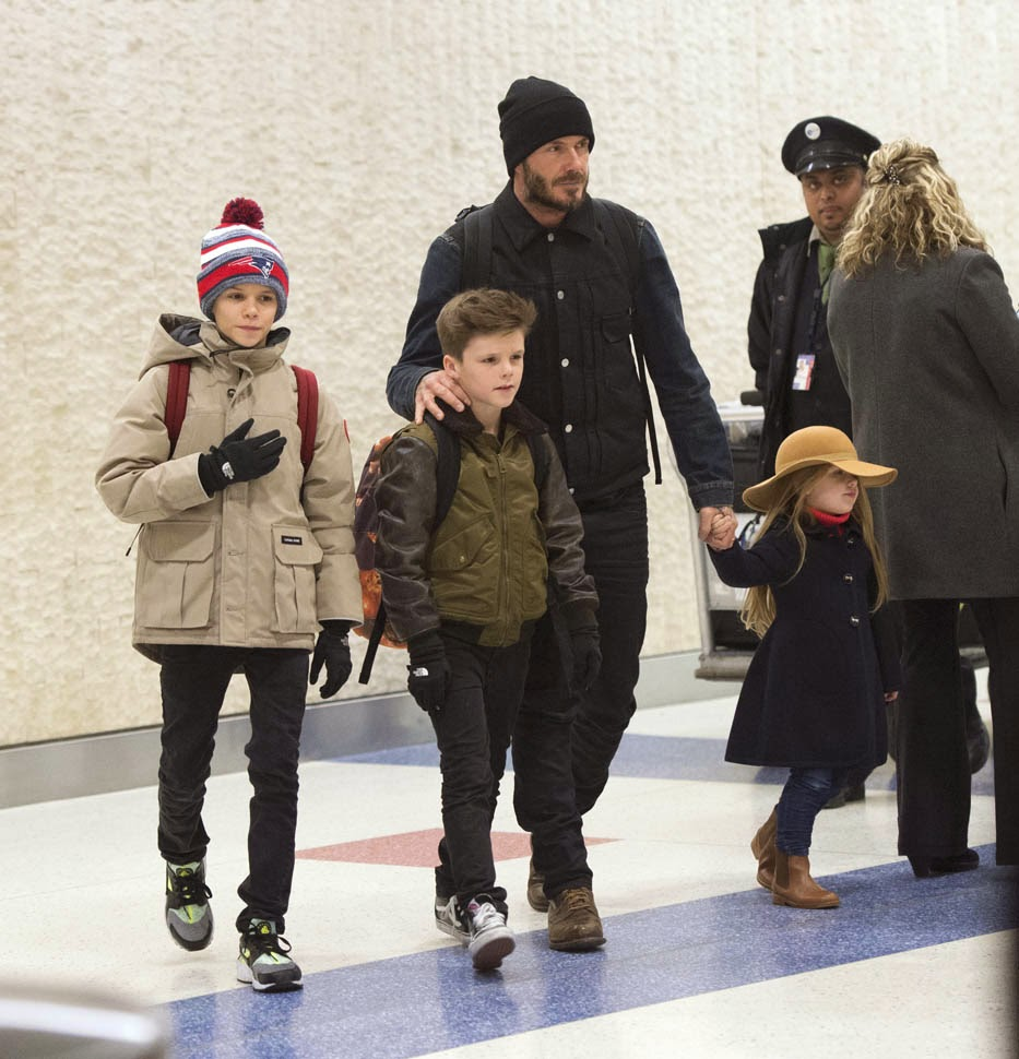 David-Beckham-With-His-Kids