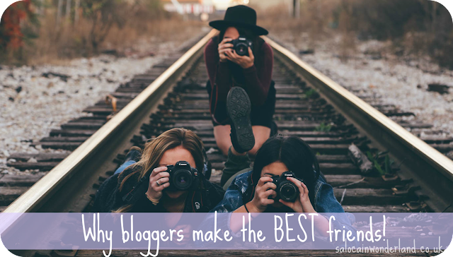 bloggers make the best friends