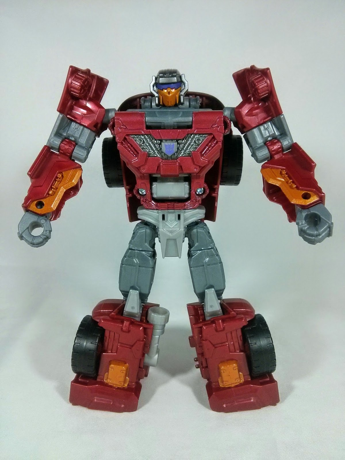 a front shot of Transformers Dead End