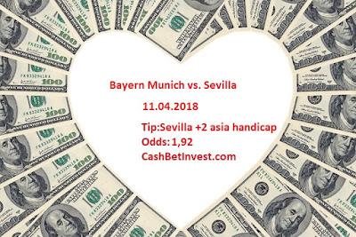 Bayern Munich - Sevilla 11.04.2018 - Cash Bet Invest
