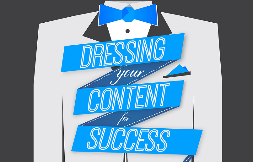 Dressing your Social Media Content for Success - infographic