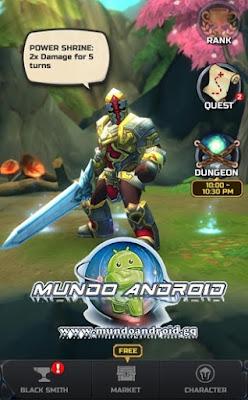Jugabilidad de Jump Warrior