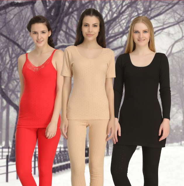 Keeps our body warm by wearing thermals for men and women