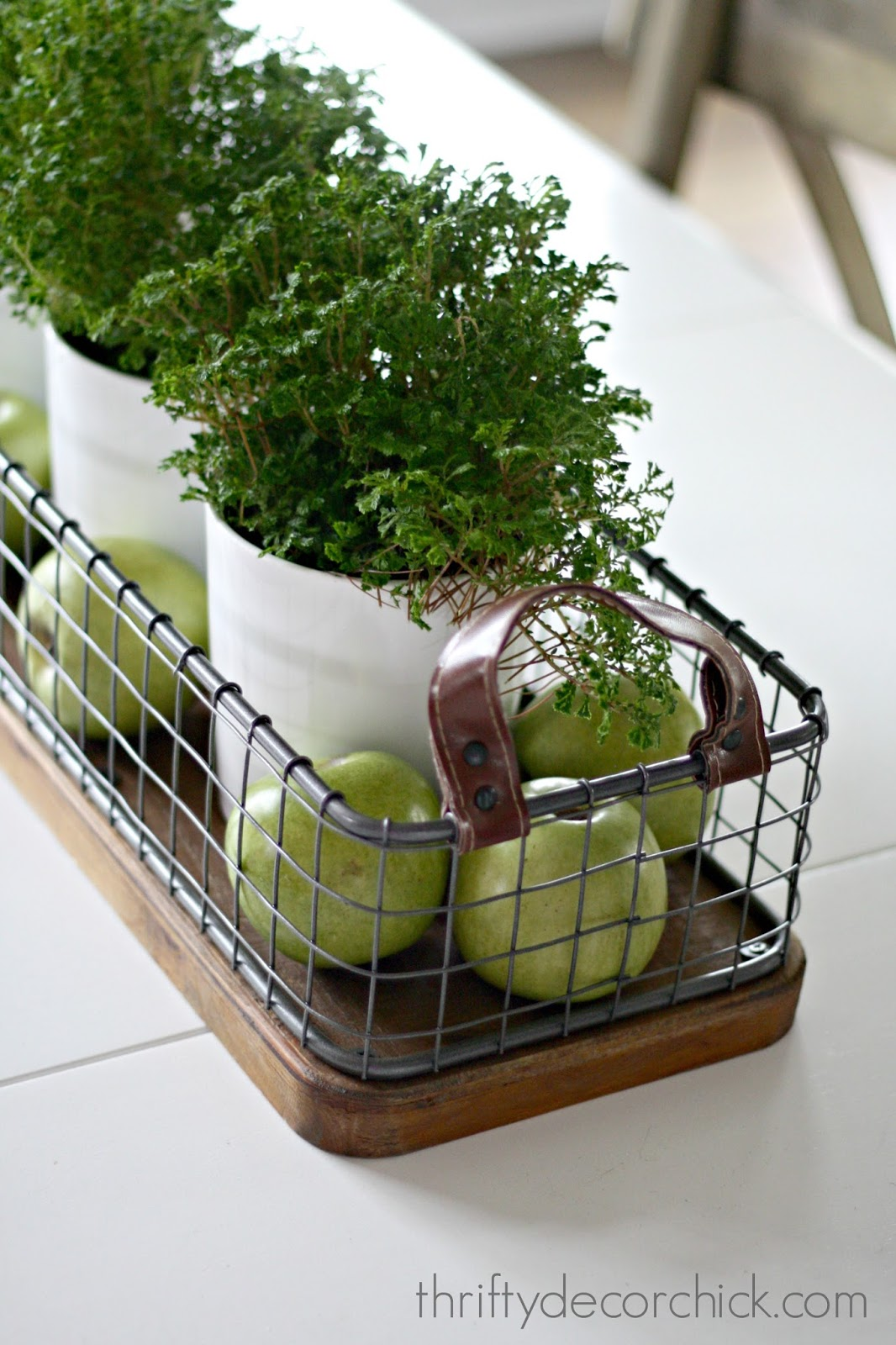 Kitchen Island Centerpiece Aid Professional Mixer Our Simple And Pretty Table From