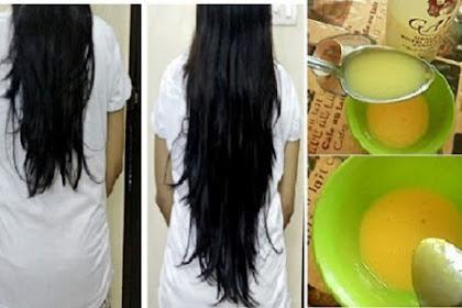 Cara Memanjangkan Rambut dalam 2 Minggu dengan Ramuan Alami
