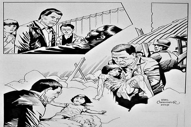 Artist behind Roxas' comics creates another for Digong