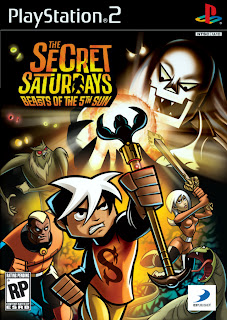 Secret Saturdays Beasts Of The 5th Sun (PS2) 2009