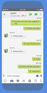 BBM MOD iPhone Style iOS Versi Terbaru v3.3.1.21 APK