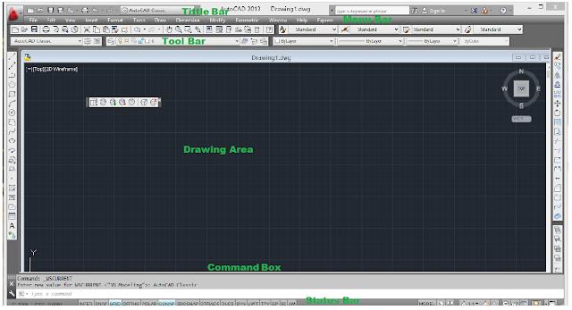 AutoCAD के icon पर right click करके list से open पर click करते है तो AutoCAD open हो जाता है