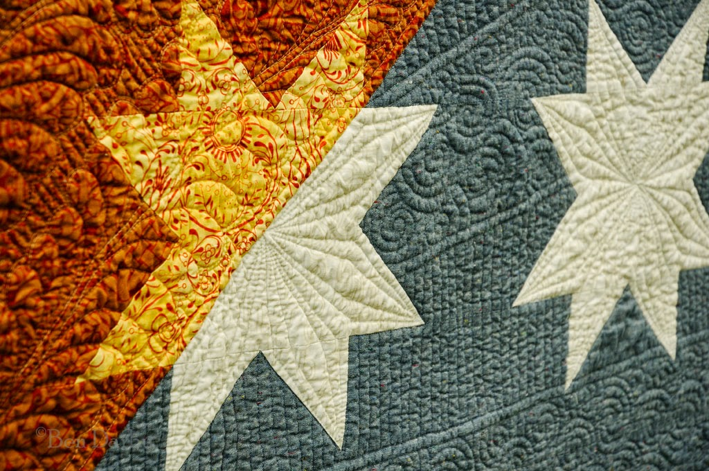 Huntspatch Quilts New Star Rising