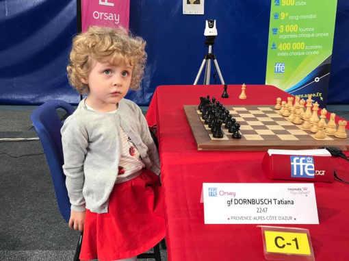 Anna Dornbusch, une jeune joueuse d'échecs - Photo © Échecs & Stratégie