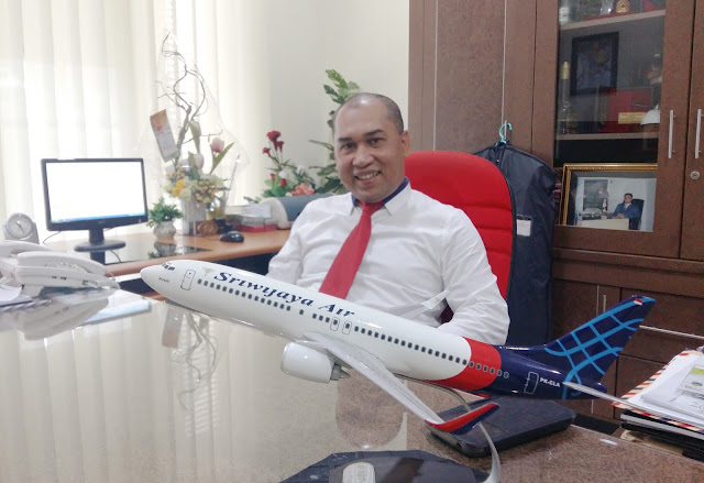 BO Manager sriwijaya air malang