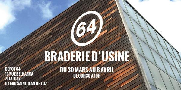 Braderie 64 d'usine SaintJean de Luz 2018 Pays Basque