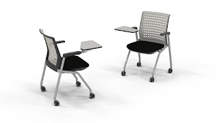 Training Room Chairs from Mayline