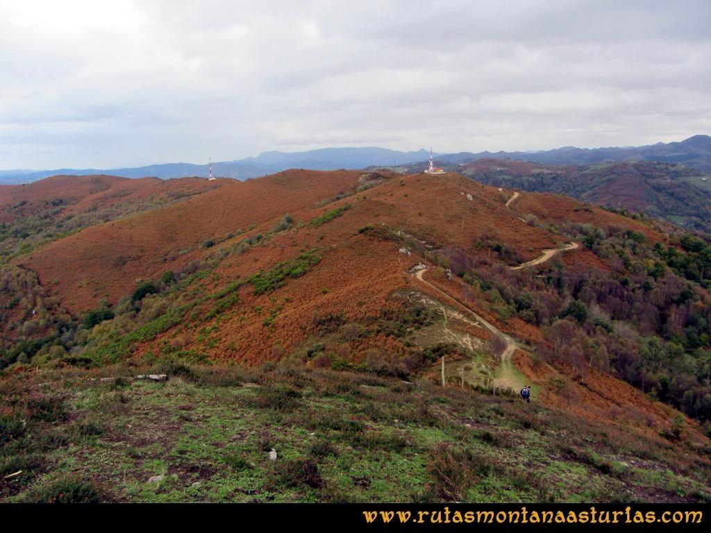Ruta Olloniego Escobín: Del pico la Boa al Escobín