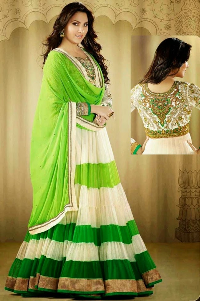 Charismatic-Anarkali-Frock-Dress-New-Fashion-Of-Anarkali-Suits-In-India-Pakistan-6 Royal Wedding Suits
