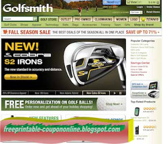 Golfsmith printable coupon 2018