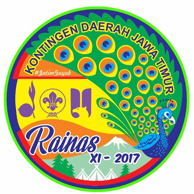 Logo Raimuna Nasional 2017 Kontingen Daerah Jawa Timur