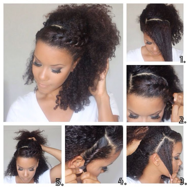 11 ways to style your natural hair