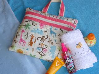Patchwork  Beach Bag