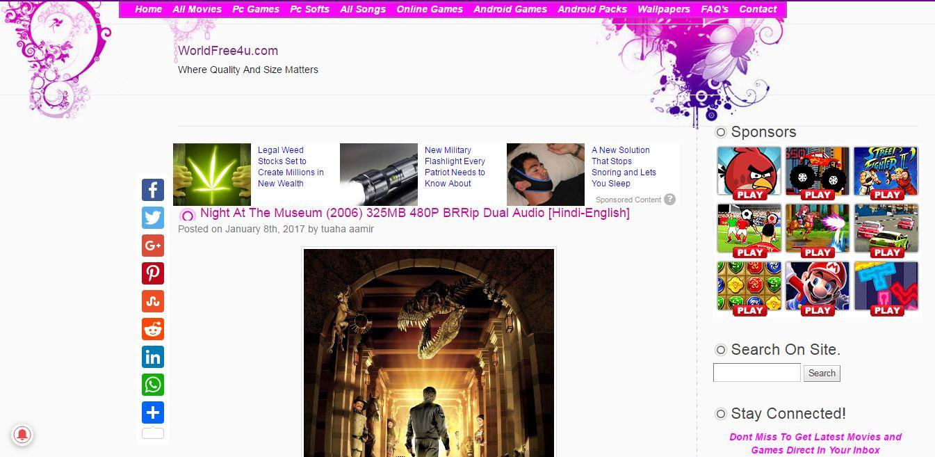 night at the museum 3 dual audio worldfree4u
