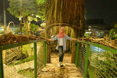 Lokasi Selfie Park Taman Pule XT Square Jogjakarta