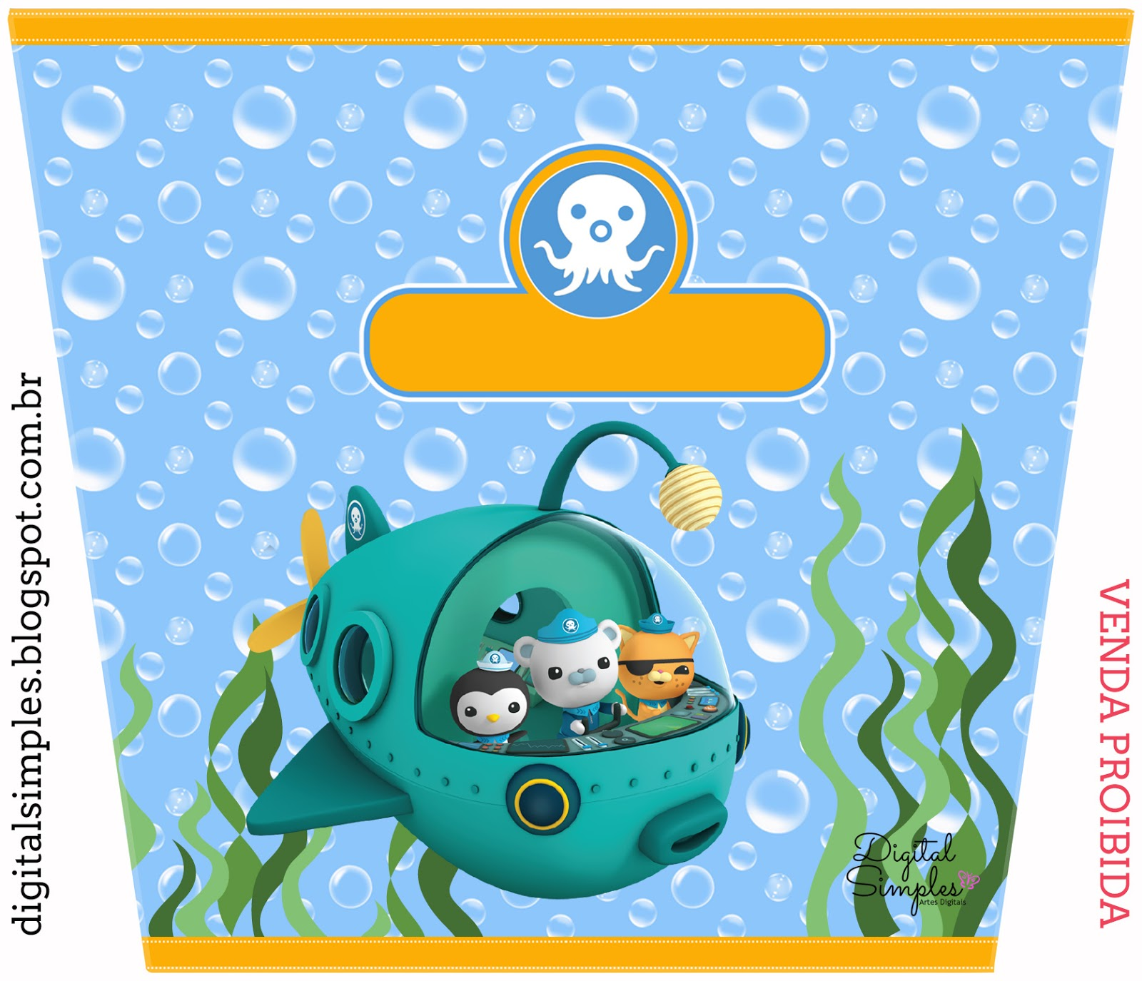 This is a graphic of Playful Octonauts Free Printables