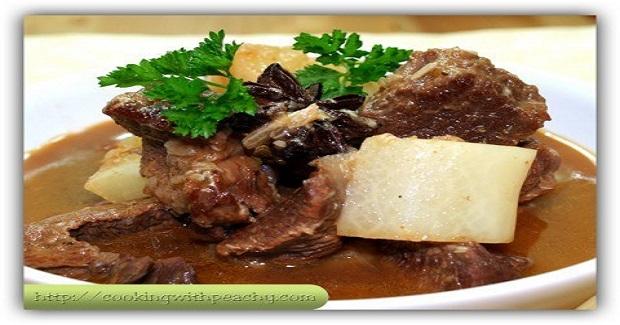 Beef Daikon (Radish) Recipe