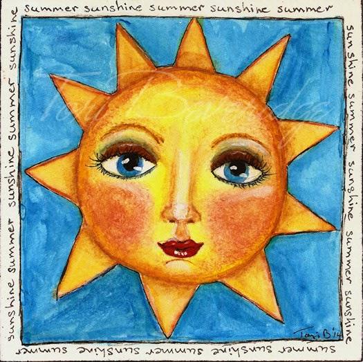 Summer Sunshine by Tori Beveridge