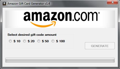 Amazon Gift Card Generator v1.4