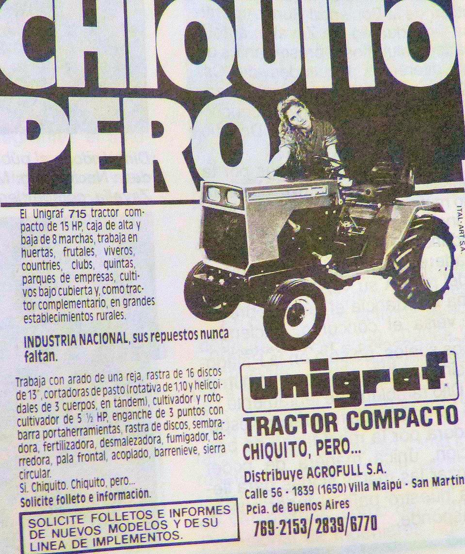 Pesados Argentinos: Unigraf Lupo 715