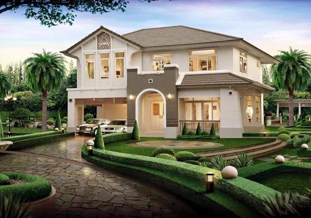 15 mẫu nhà phố và biệt thự đẹp tuyệt vời