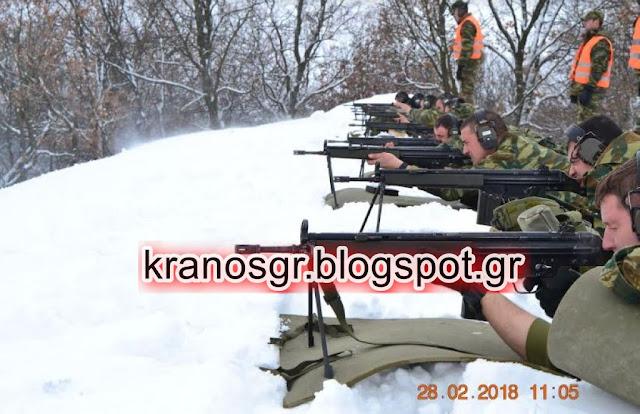 Απάντηση του Δ'ΣΣ στην Τουρκική δραστηριότητα στο Β. Έβρο: ''Το χιόνι μας παθιάζει''