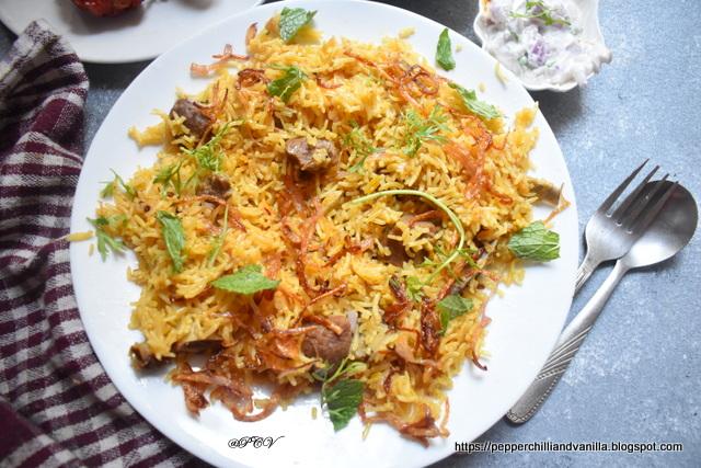 easy mutton pulao