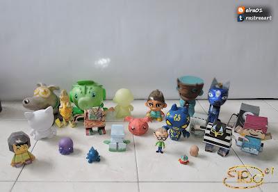 imagen de art toys mexicanos en la historia del art toy