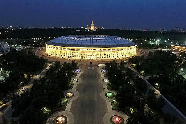estadio olímpico de moscú mundial rusia 2018