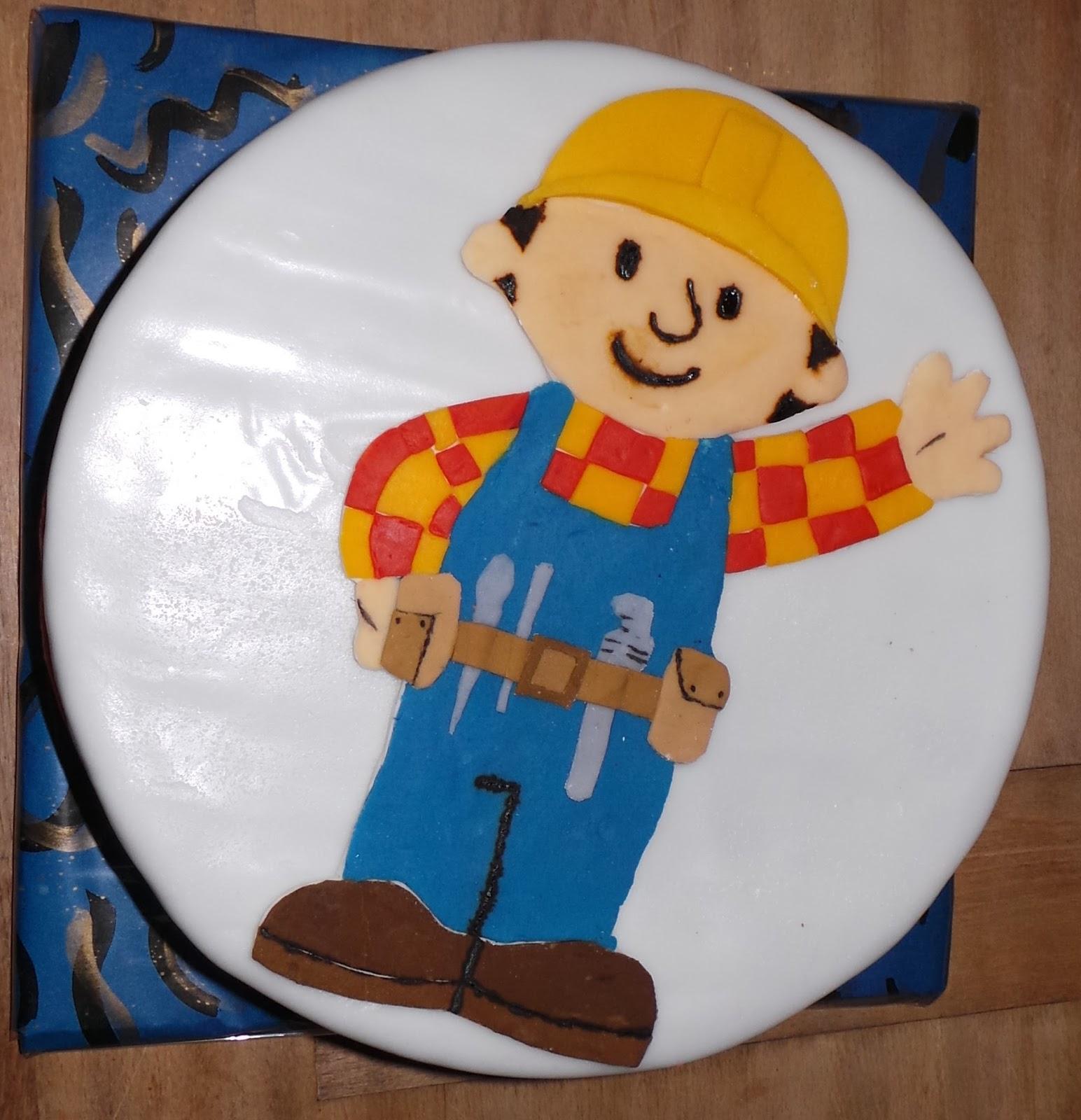 Sandy S Kitchendreams Bob Der Baumeister Kuchen