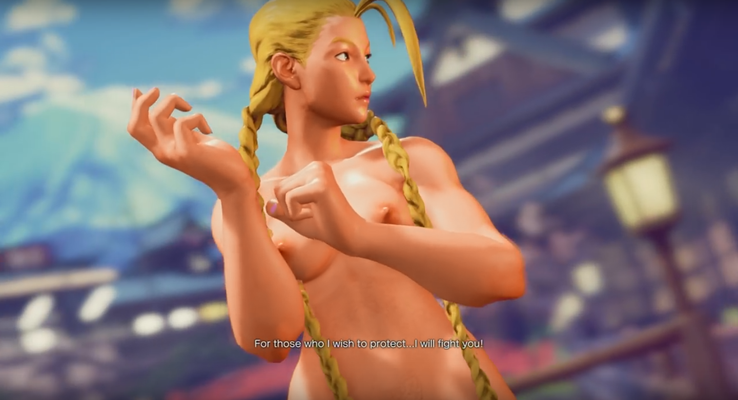 Cammy mod nude fighter street