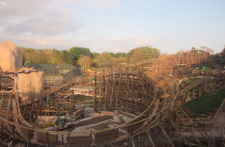 The Latest: SW8 Alton Towers, beginning to look better and better each day.
