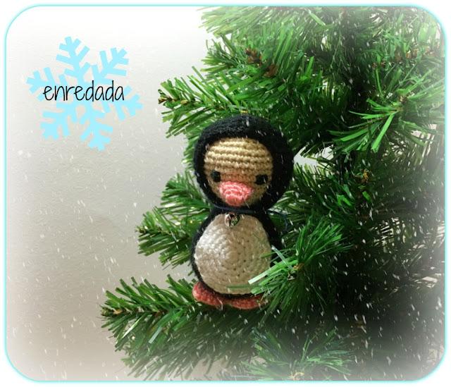 enredadaen.blogspot.com.es/christmas ornaments/pingüino