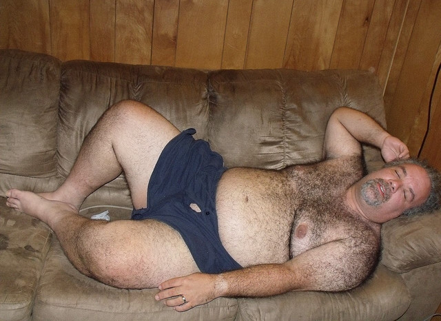 gay big hairy belly