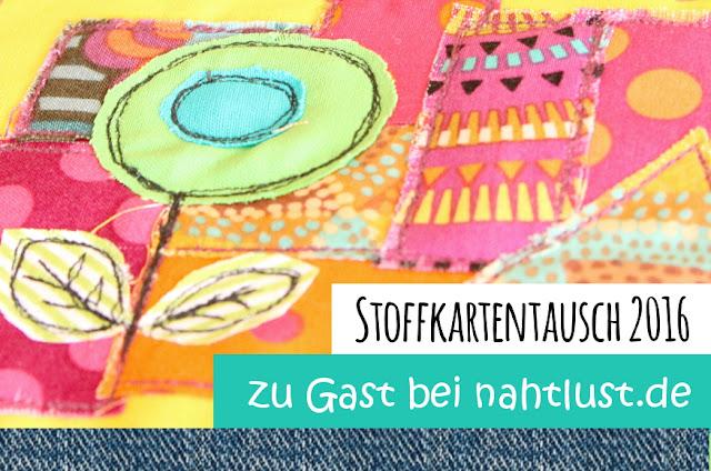 stitchydoo: stoffkartentausch 2016 - Zu Gast bei nahtlust.de