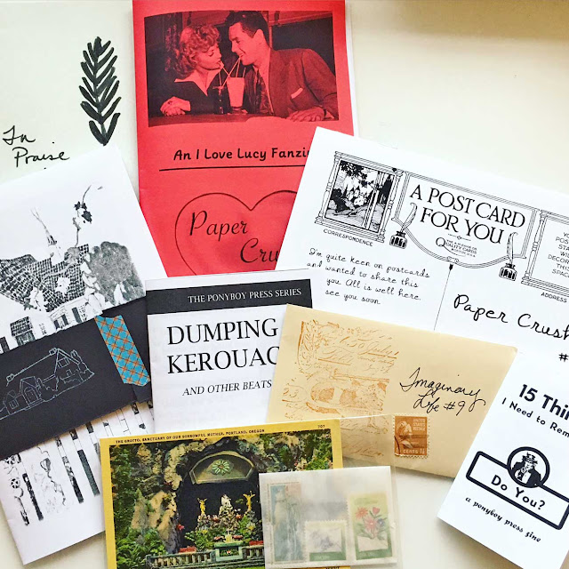 Ponyboy Press zines will be at the Portland Zine Sympoisum 2016