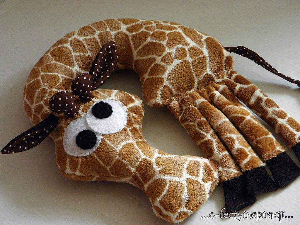 żyrafa przytulanka dla dziecka