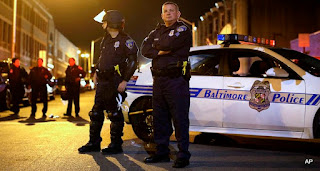 Baltimore officers stopped policing