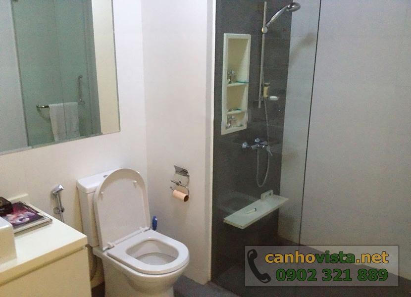 thuê căn hộ The Vista 2 phòng ngủ tầng 10 - Phòng vệ sinh