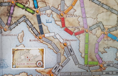 Ticket To Ride what does the map look like