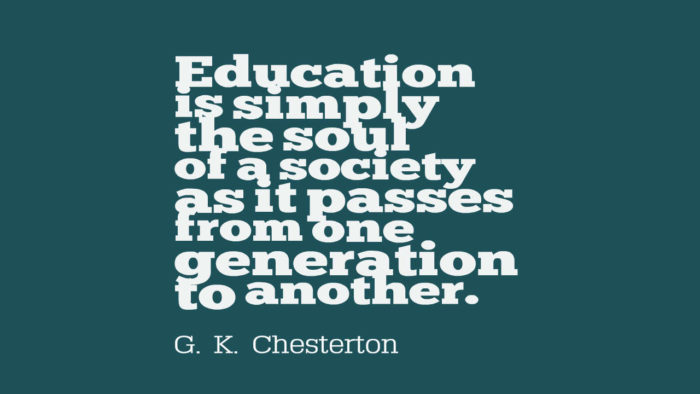 Education-is-simply-the-soul-of-a-society