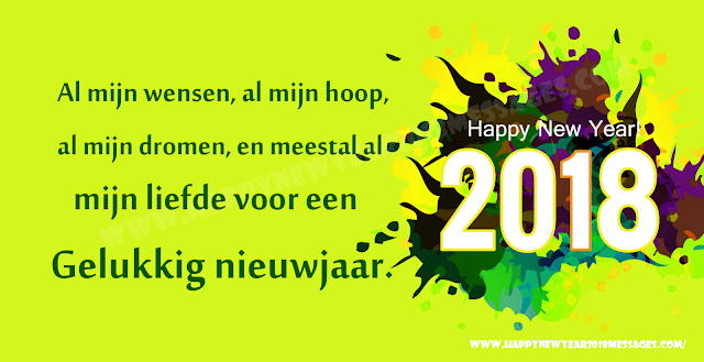 New Year 2018 Dutch Status